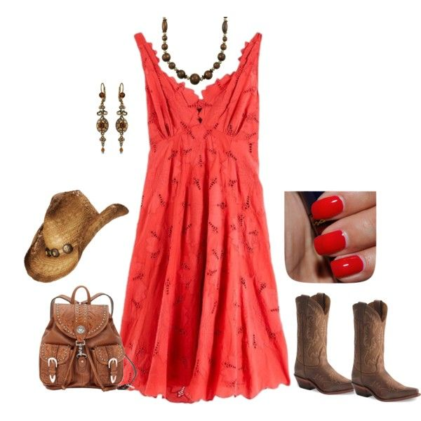 Red Sundresses
