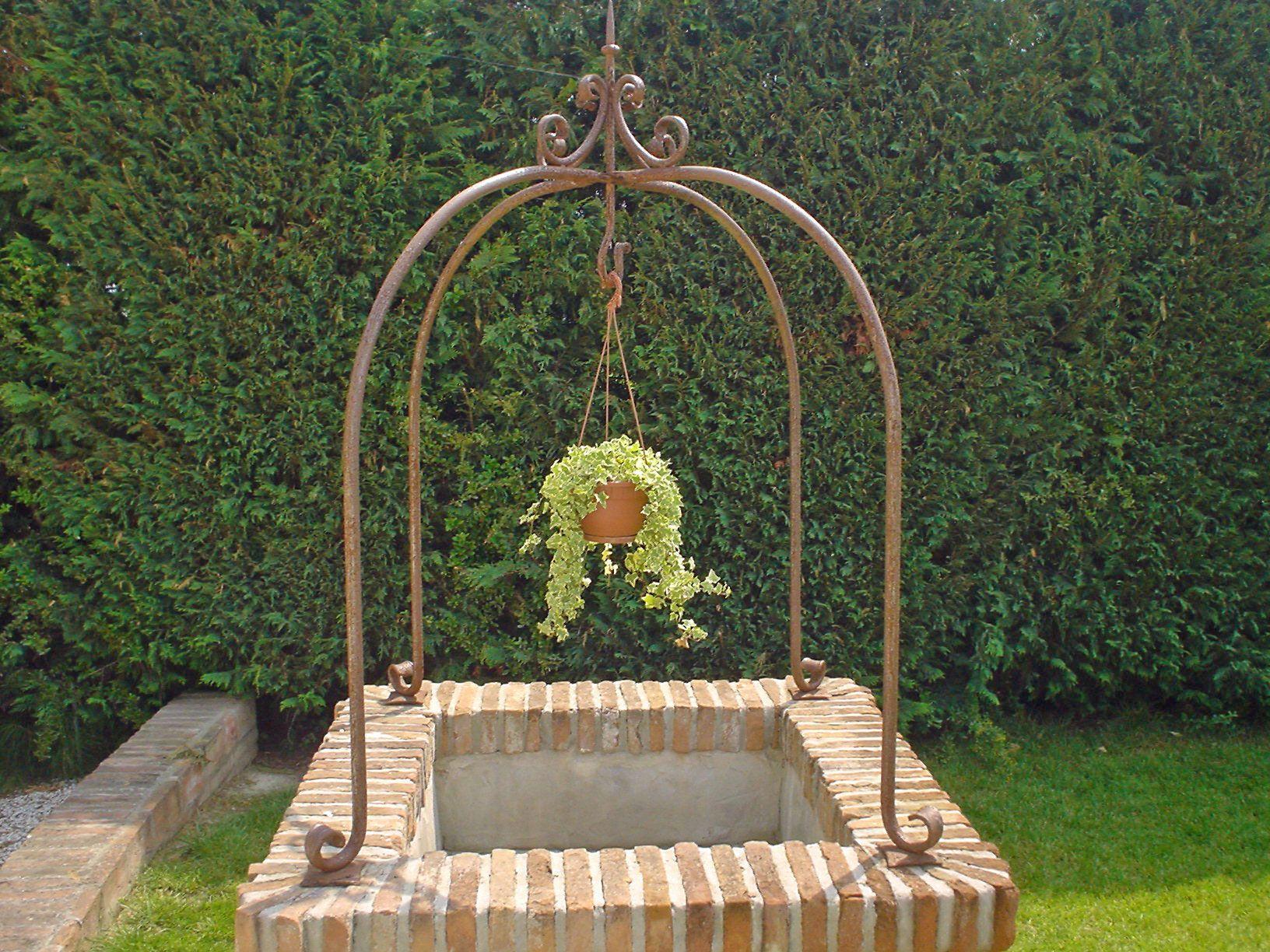 Pozzi Decorativi Da Giardino : I pozzi nella progettazione di un giardino elementi