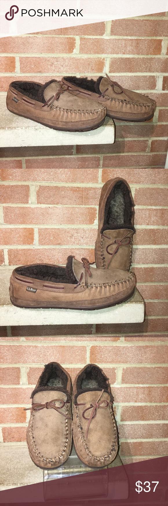 859d31da549 Cabelas Men's Brown suede & shearling size 8W Warm Cabelas Men's ...