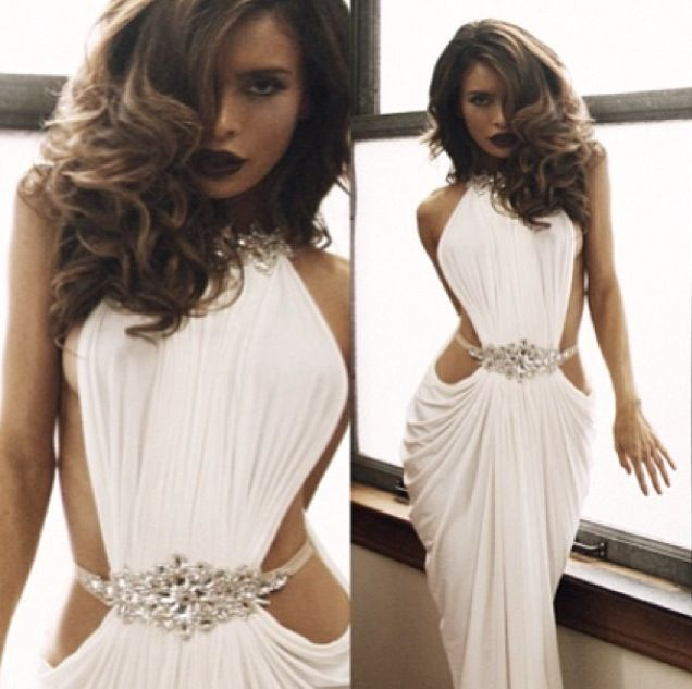 Summer Favourite Grecian Dresses: Michael Costello Grecian Dress