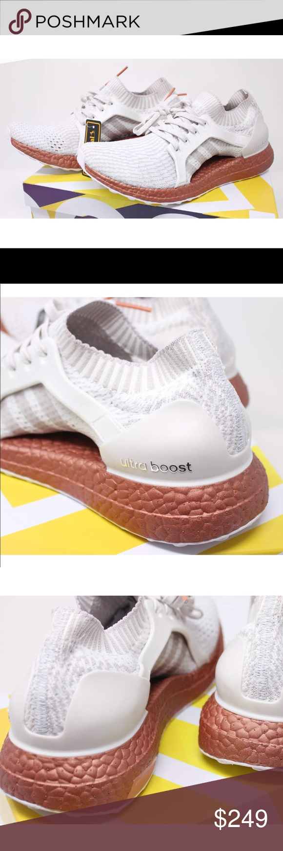820a5d9f0 ADIDAS ULTRABOOST x LTD Rare White Ice Purple Rust ADIDAS Womens ULTRABOOST  x LTD Rare Crystal