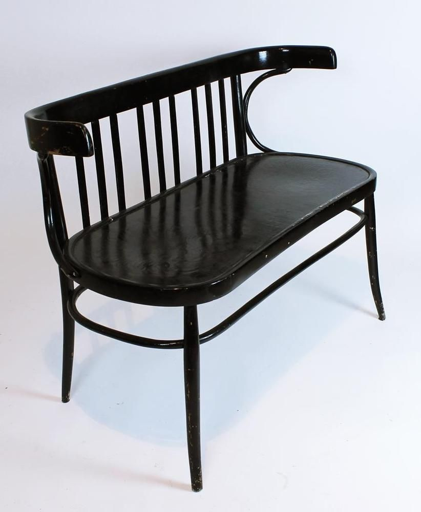 Vintage 1930 \'bentwood thonet two seater bench /settee | Settees ...