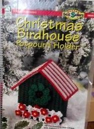 howb #1860056 Christmas birdhouse Potpourri holder