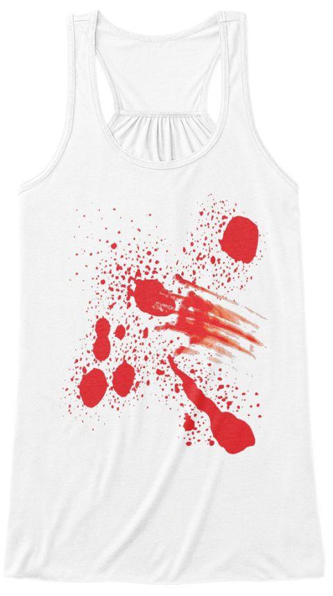 Halloween Costume Bloody Tank Top Halloween T Shirt Ideas - halloween t shirt ideas