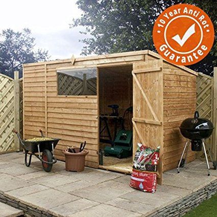 Shop Our Selection Of Wooden Outdoor Storage Shed In The Storage Organization Department At Www Outdoorstorageshed Co Outdoor Storage Sheds Wooden Sheds Shed