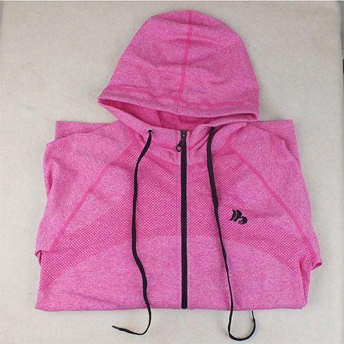 B.BANG Womens Hoodies Casual Quick-Dry Long-sleeve Sweatshirt Leisure Fitness Exercise Jackets Zipper Hooded Coats Sportswear