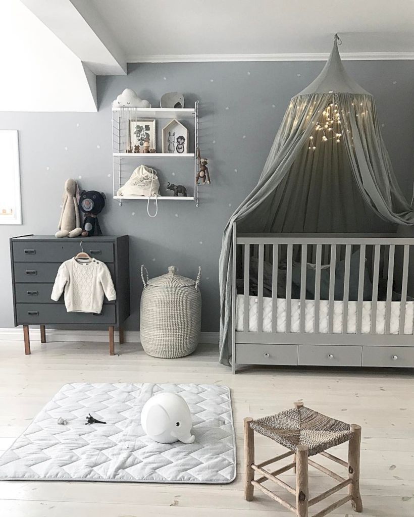 Baby Nurseries 2019 Simple baby boy nursery room design ideas (19)