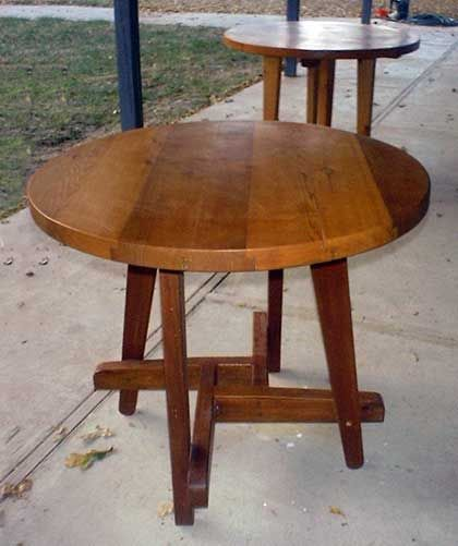 Round Patio Table step by step instructions – Free Round Patio Table Plans
