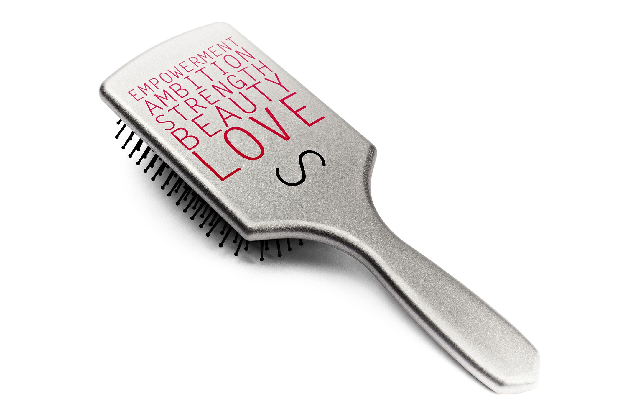 "SARAHPOTEMPA ""Power"" Paddle Brush Vegan hair care"