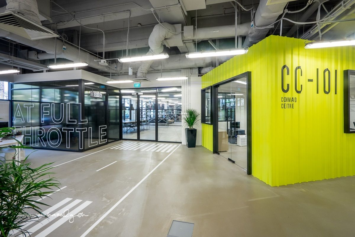 Modern Architecture Office Interior: Inside The Hangar's Cool Singapore Coworking Space
