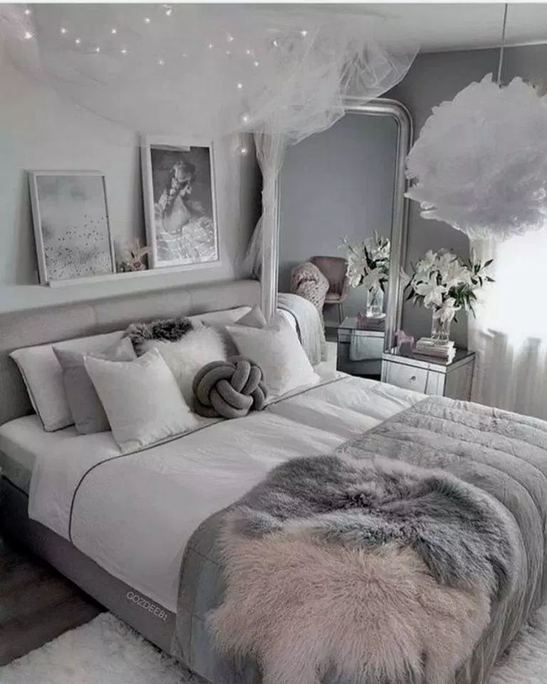 25 Small Bedroom Ideas Decor To Make Look Bigger Bedroomdecor Bedroomdesign Bedroomideas H Small Master Bedroom Girl Bedroom Designs Bedroom Inspirations