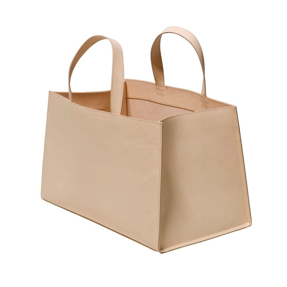 Minimal + Classic:  Leatherbag Small, Beige - Lotta De Visscher - Maze - RoyalDesign.se