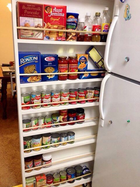 great idea for saving space source reddit small on creative space saving cabinets and storage ideas id=80266