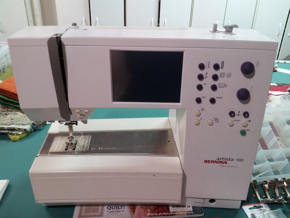 Bernina artista 180 sewing embroidery quilting machine only 26 bernina artista 180e sewing embroidery quilting machine fandeluxe Gallery