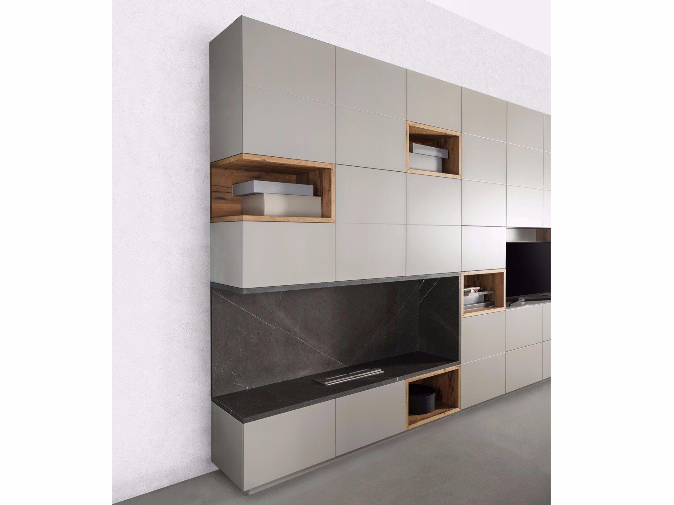 Storage wall by tm italia cucine tv panel ТВ ЗОНА pinterest