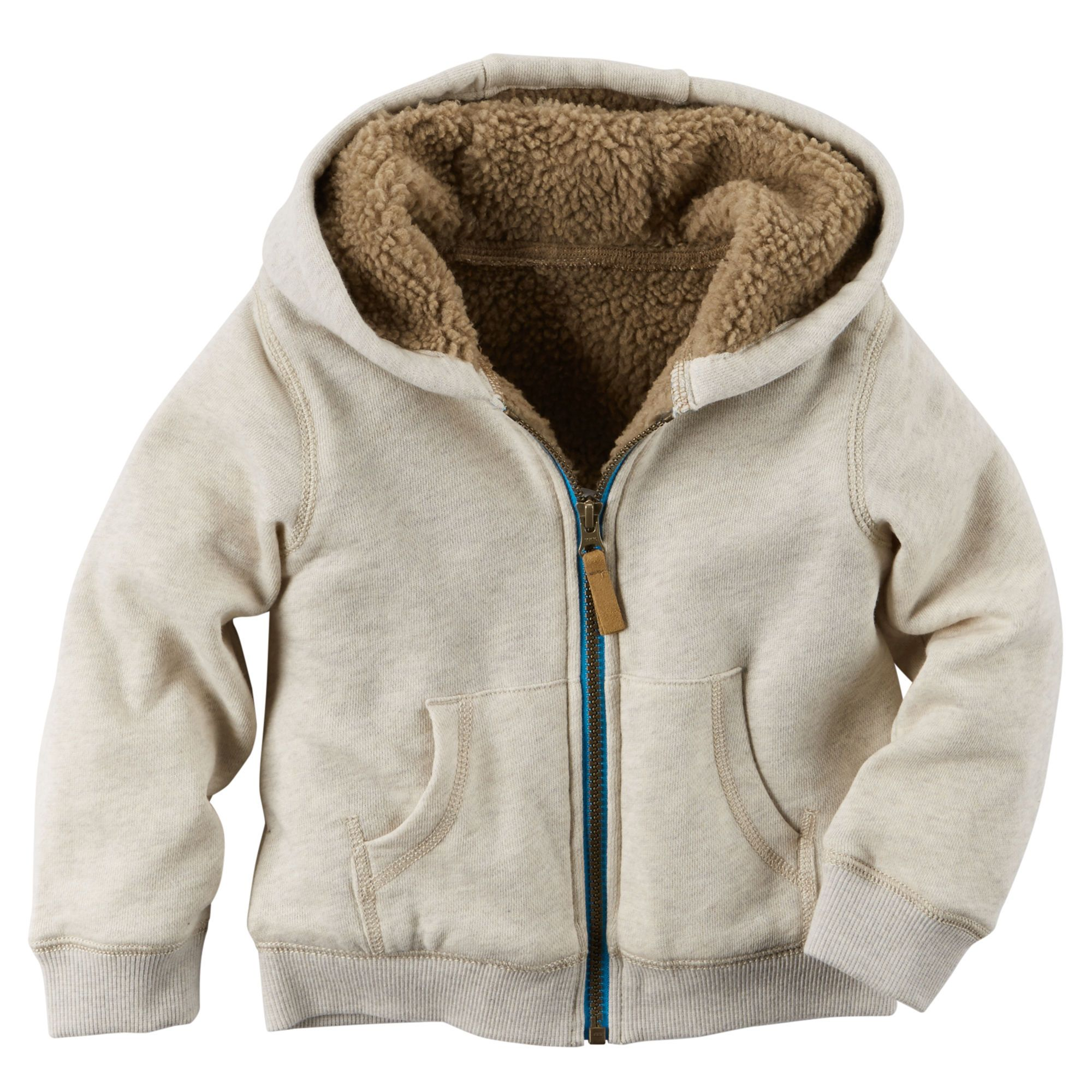 Baby Boy Sherpa Lined Hoodie Carters Com Style Fashion