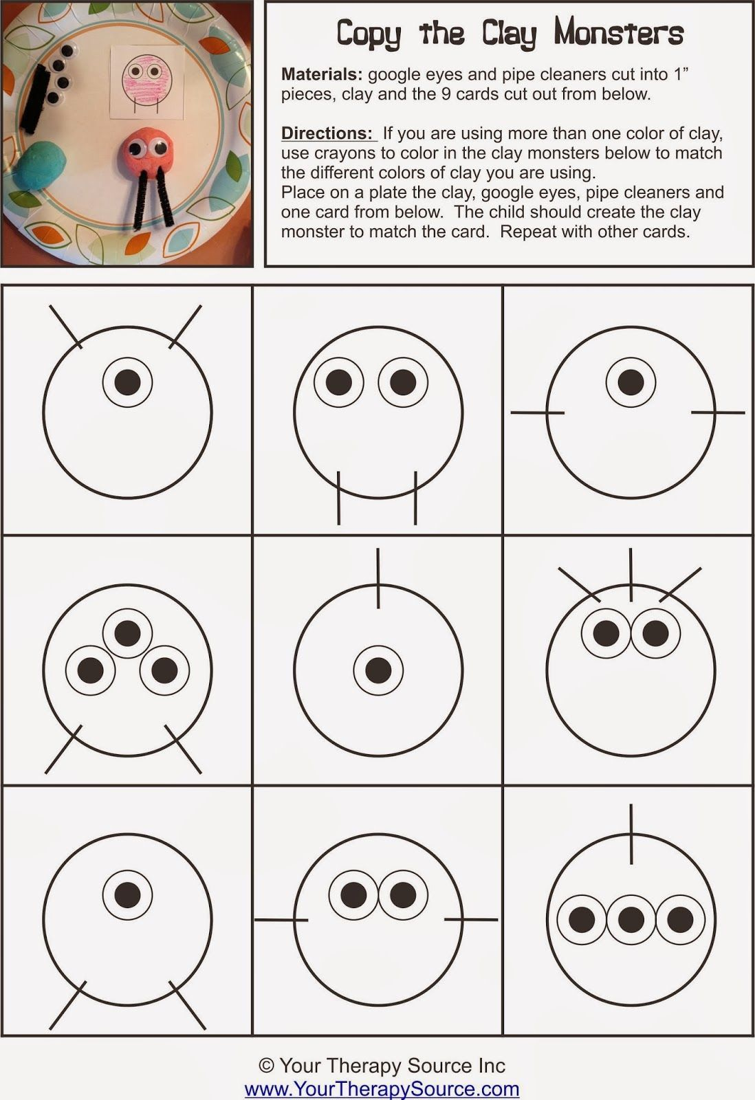 6 Visual Motor Worksheets In With Images