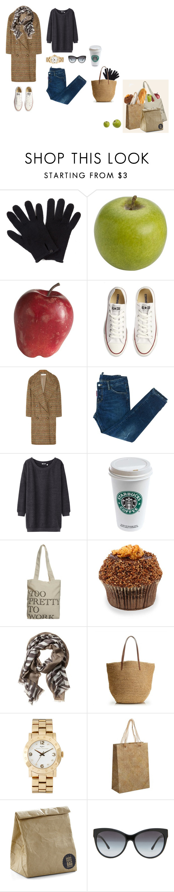 """""""weekend shopping"""" by victoria-izhboldina ❤ liked on Polyvore featuring Jigsaw, Pier 1 Imports, Converse, STELLA McCARTNEY, Dsquared2, Uniqlo, Souve, Banana Republic, J.Crew and Marc by Marc Jacobs"""