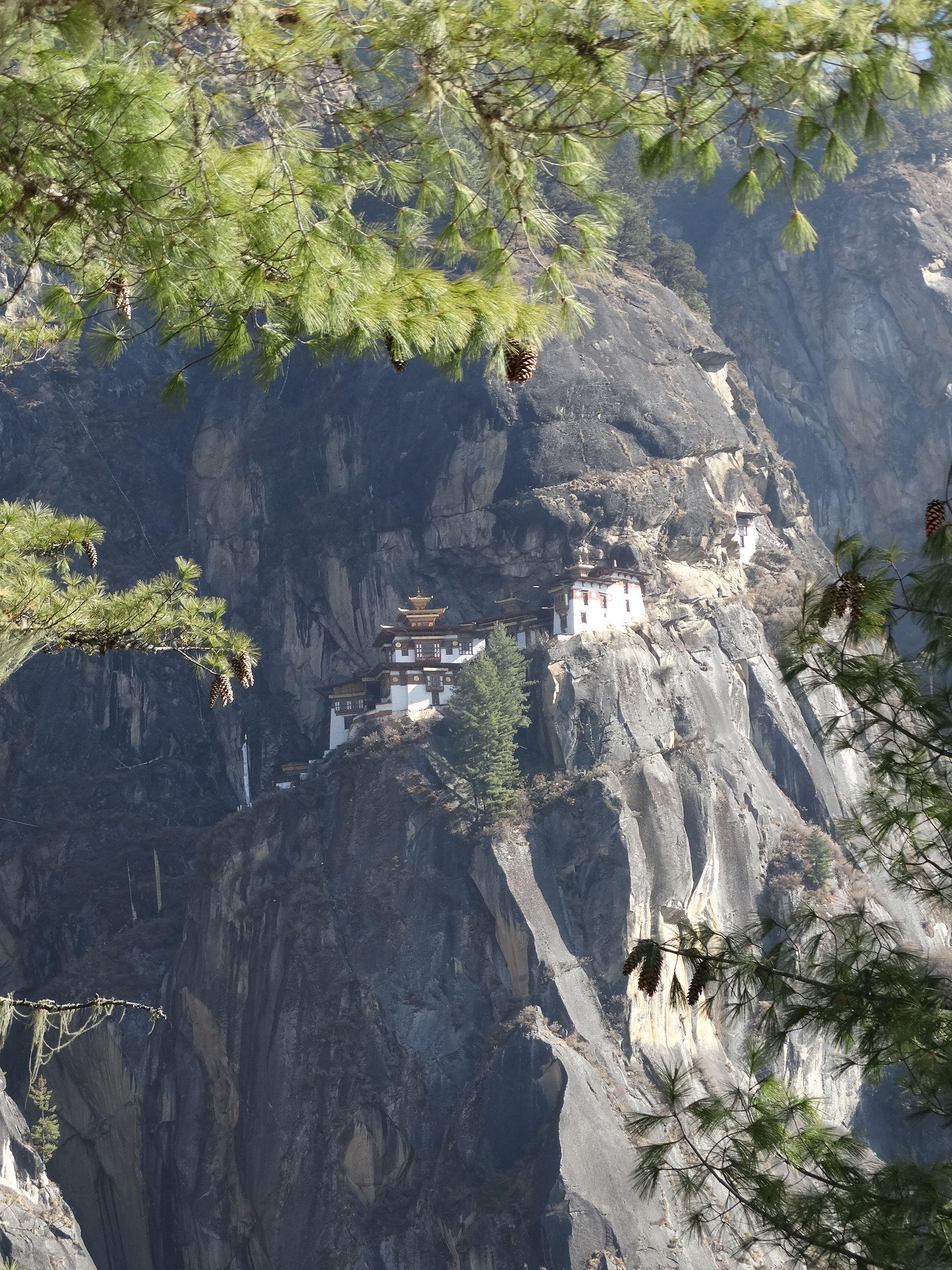 Taktshang Goemba o Monasterio del Nido del tigre, Bhutan