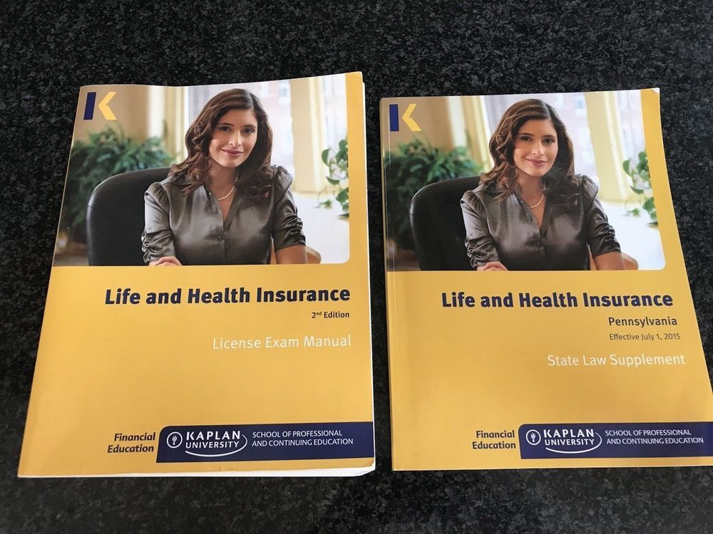 Kaplan Life Health Insurance License Exam Manual Pennsylvania
