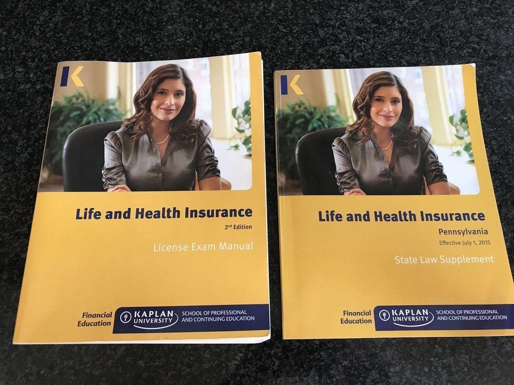 Kaplan Life & Health Insurance License Exam Manual