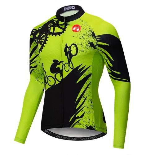 2019 New Long Sleeve Cycling Jersey Men Autumn Racing Cycling Clothing  Maillot Ropa Ciclismo mtb Bike 4136e9c6a