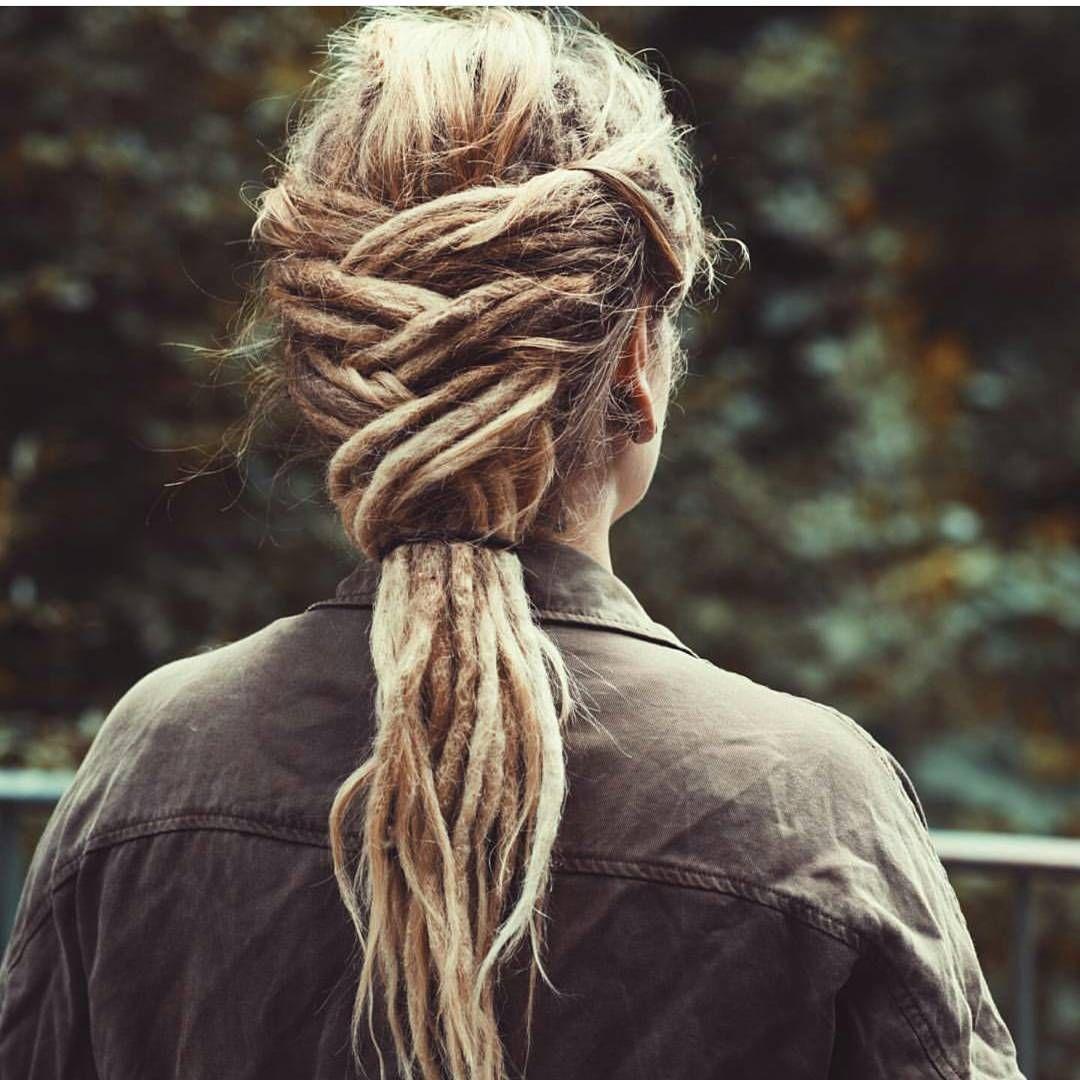 Dreadlock hairstyle dread braid dreads pinterest dreadlock