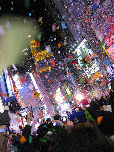 Times Square On New Year S Day New Years Eve Newyear I Love Ny
