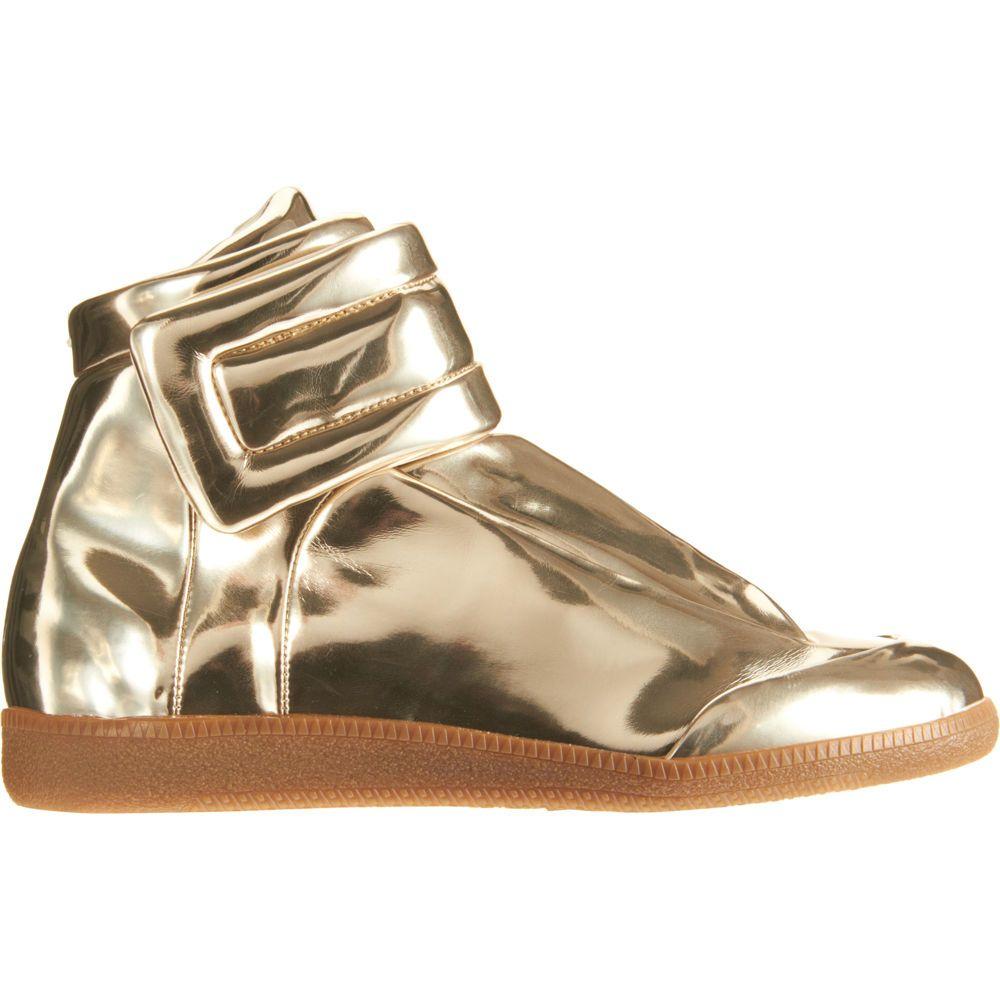 Mirror Sneaker GOLD - Maison Martin