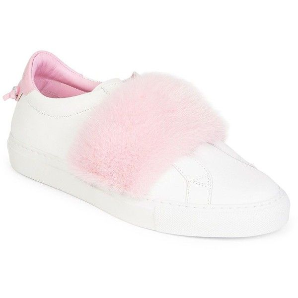 Givenchy Urban Knot Mink Band Slip-On Sneakers 9aRml