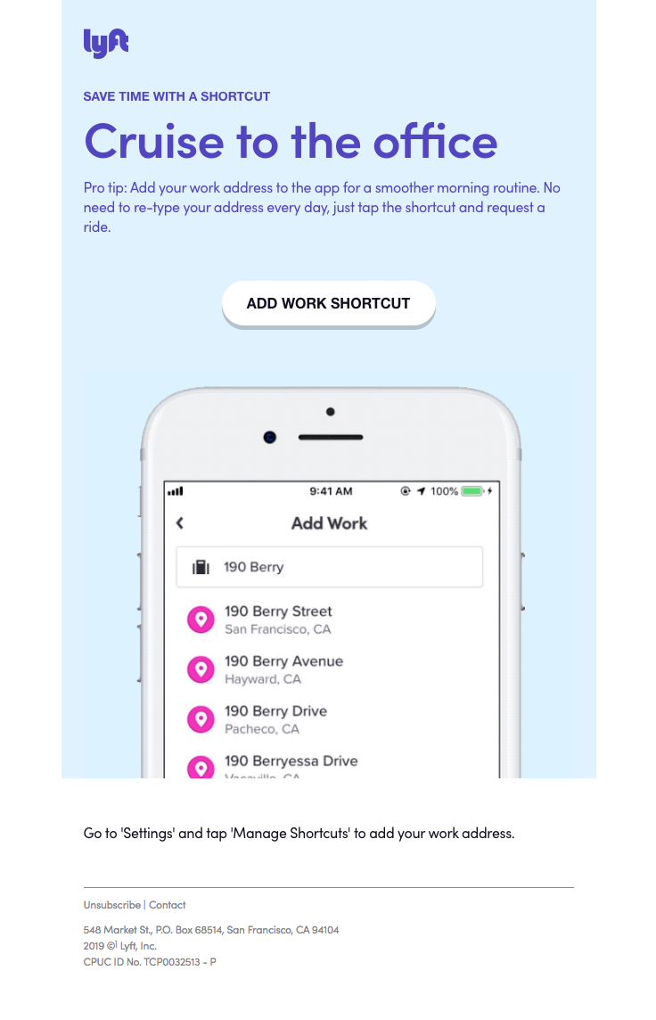 Save Time Add Your Work Address To The App Best Email Save Time App