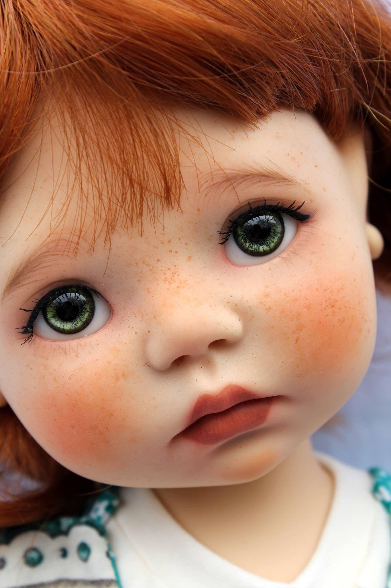 Картинка лицо куклы