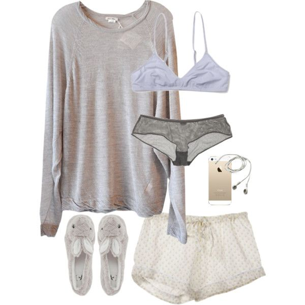 """""""Bunny Feet"""" by elise-olivia on Polyvore"""