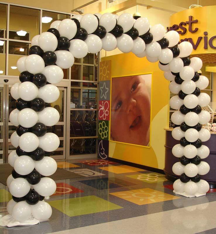 GalleryofBalloonColumns Arches Columns and Dance Floor