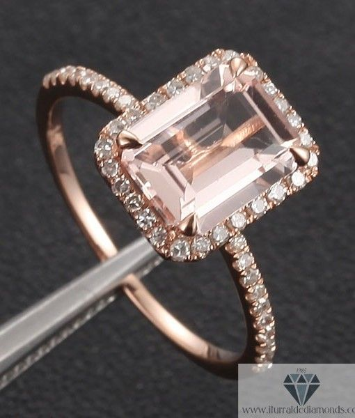 emerald-cut-morganite-engagement-ring-rose-gold-diamond-