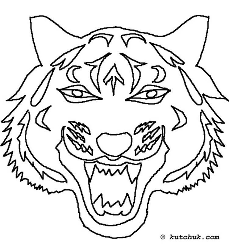 Coloriage Tigre.Pin By Taina Thompson On Ecole Color Chinese New Year Chinese Zodiac