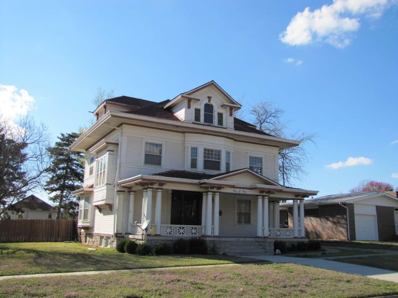 S.P. Gebhart House in Pratt County, Kansas.
