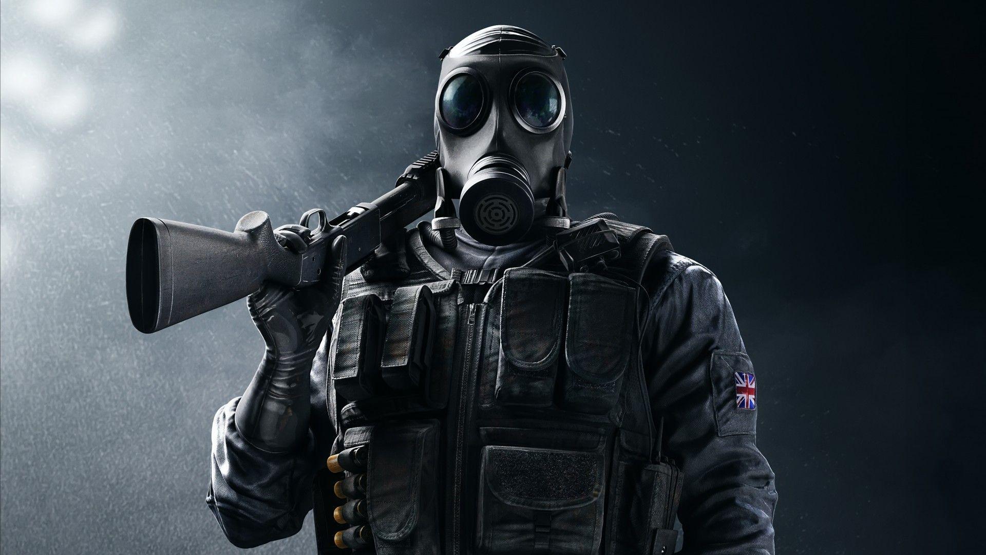Tom Clancy's, Rainbow Six Siege, SAS Smoke, 4K Desenhos