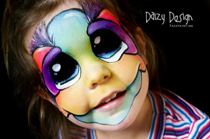 Face paint by Daizy design face painting Pinterest Face and - face painting halloween ideas