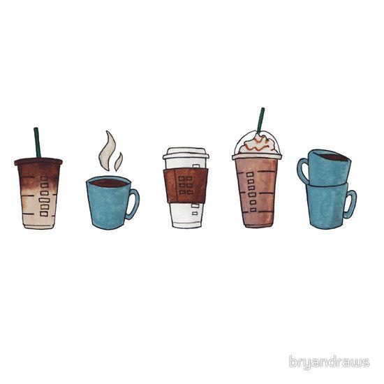 Photo of 'Coffee?' Sticker by bryandraws