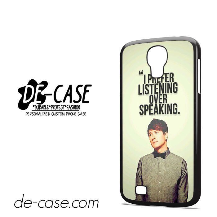 Owl-City-Adam-Young-Quotes-DEAL-8347-Samsung-Phonecase-Cover-For-Samsung-Galaxy-S4-/-S4-Mini