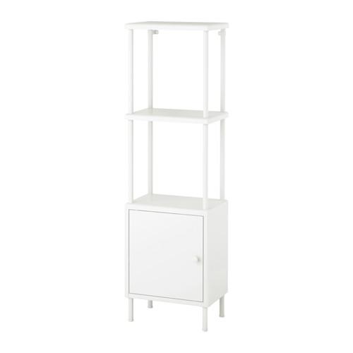 DYNAN Shelving unit with cabinet IKEA Adjustable feet make