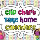 If you are using the Clip Chart Behavior Management System, these calendars will enable your students' parents to monitor their children's behavior...