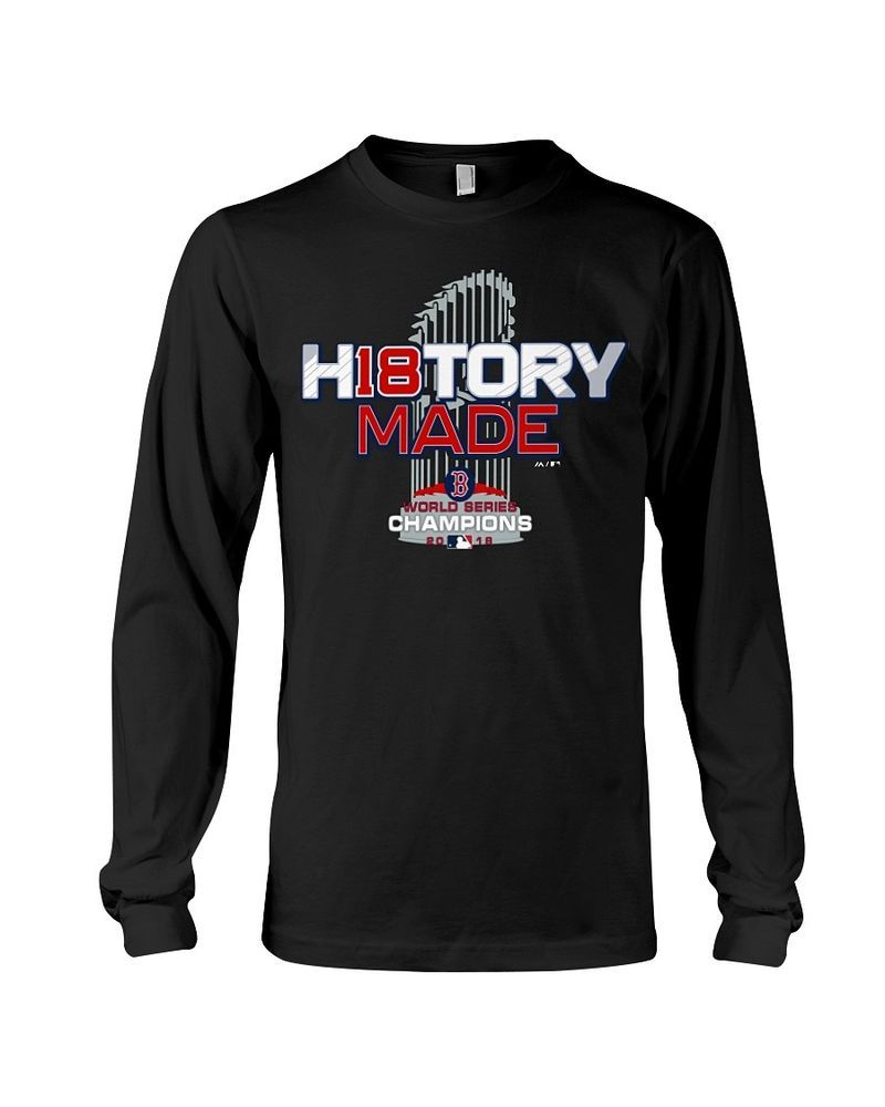 a3b7e12bedd Boston Red Sox 2018 World Series Champions Locker Room Long Sleeve Tee   fashion  clothing
