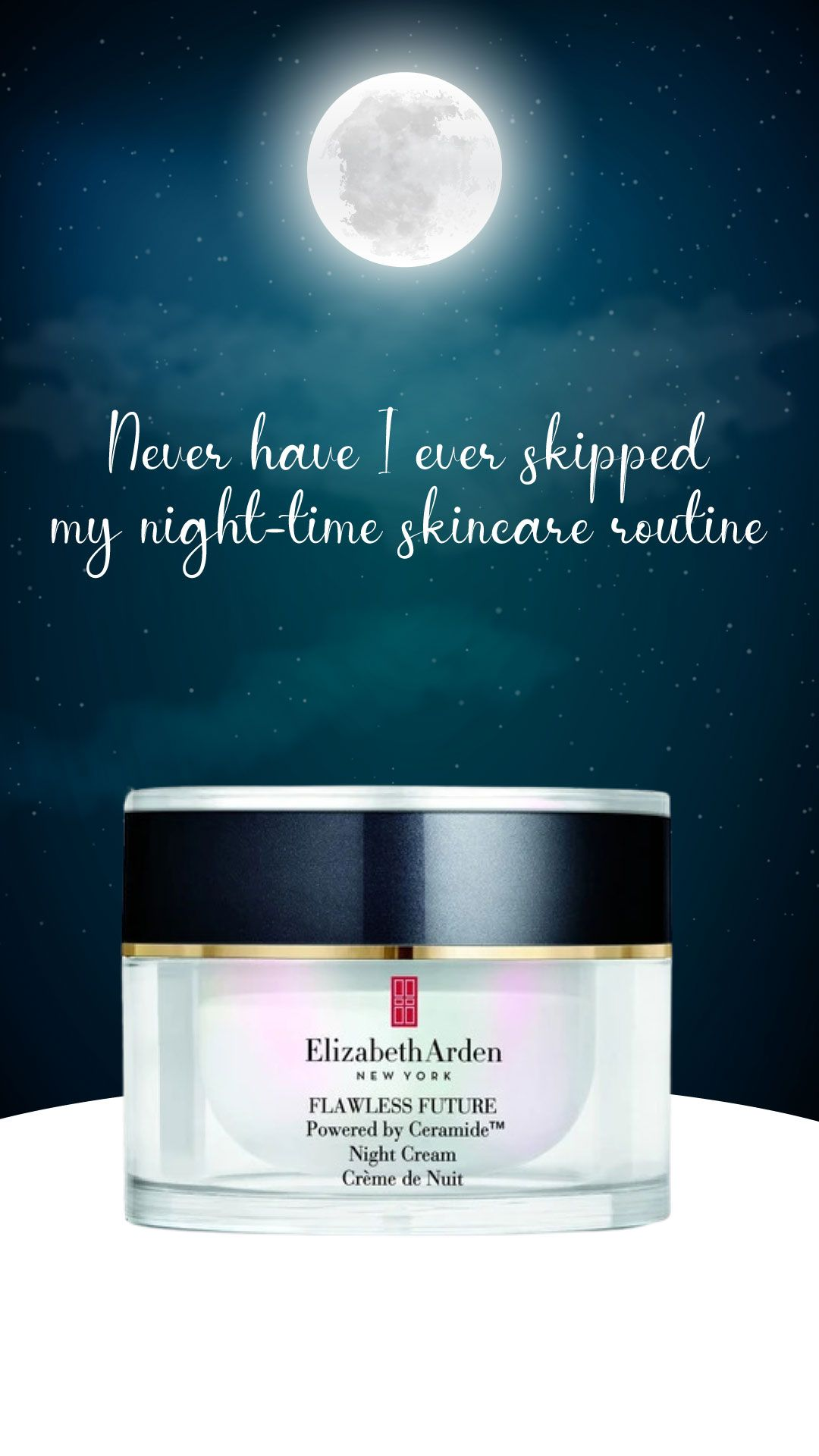 Elizabeth Arden Flawless Future Powered By Ceramide Night Cream In 2020 Night Creams Ceramides Elizabeth Arden