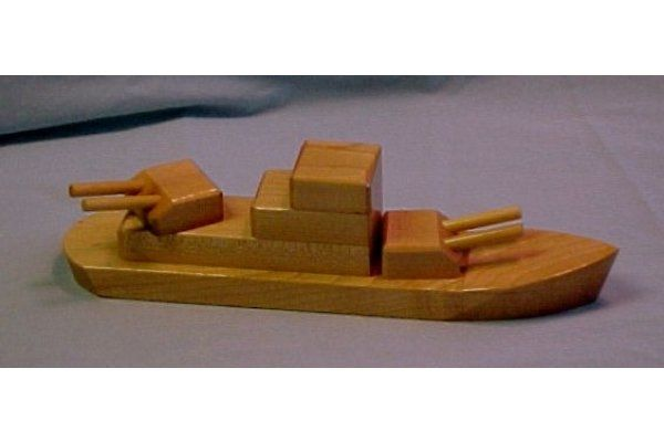 Wooden Toy Destroyer - Wooden Toy Boats | wood toys | Pinterest ...
