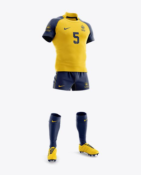 Download Men S Full Rugby Kit Hq Mockup Half Side View In Apparel Mockups On Yellow Images Object Mockups Clothing Mockup Shirt Mockup Rugby Kit