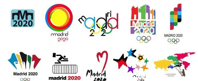 Madrid 2020 Candidate Logos Juegos Olimpicos Olimpiadas