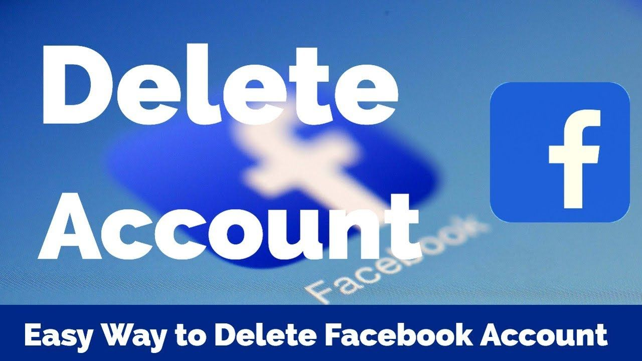 How to delete facebook account permanently 2018 easy