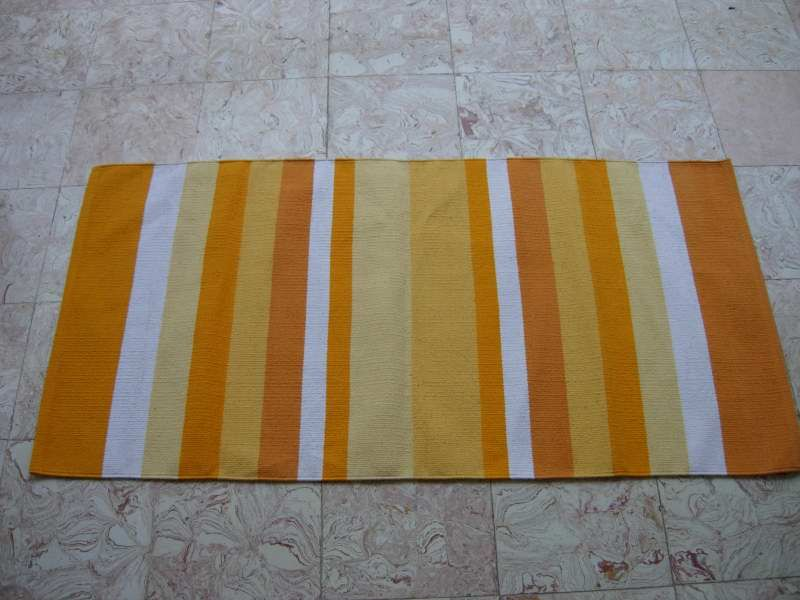 Handwoven Cotton Rugs Made In India By Global Floor Furnishers